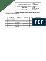 25 Procedura Operational A Privind Condica de Prezenta