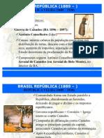 República Velha - revoltas