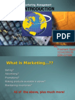 Introduction to Marketing&Prodct Planning