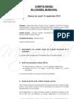 Mignovillard - Compte rendu du Conseil municipal du 14 septembre 2010