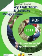 Sport & Leisure Programme Wb 21 Feb 11
