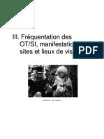 rapport 2007 fréquentation des manifestations et des musées du département de la Manche (50)