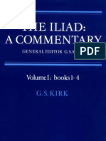 The Iliad a Commentary Volume 1 Books 1 4