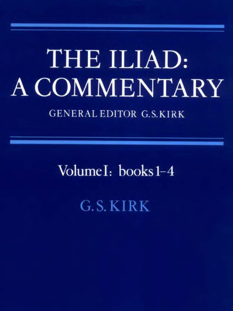 The iliad a commentary volume 1 books 1 4 homer oral tradition fandeluxe Image collections