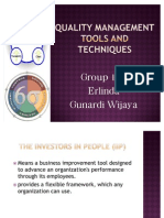 Quality Management Tools and Techniques
