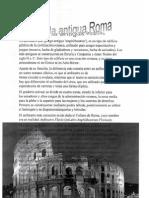 ocio en la antigua Roma. Sergio Sánchez