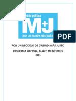 Programa Marco M+J Def