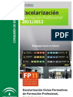GRADO SUPERIOR - SOLICITUD DE PLAZAS 2011-12