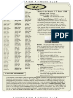 May Newsletter 2008