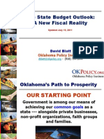Oklahoma Budget Trends and Outlook (July 2011)