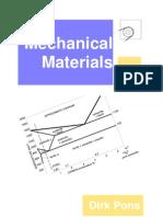 Mechanical Materials