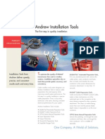 Andrew Installation Tools