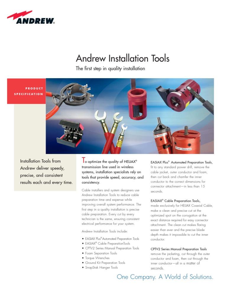 Andrew Installation Tools