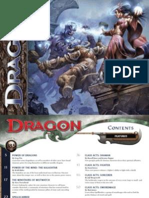 Dragon Magazine 385 | World Of Eberron | Dream