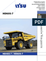 Manul Camion HD605-7 y Hd-465