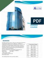Transformer Training Course