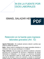 Ejemplos Retencion en La Fuente Por Salarios