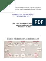 (Quimica) - Ciência dos Materiais - Corrosão e degradação dos materiais
