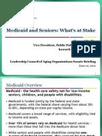 Medicaid and Seniors
