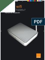 Manual Thomson TG585v7