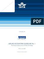 Airline Accounting Guideline No. 1