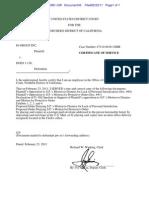 10-Cv-04381-CW Docket 45 Cerificate of Service