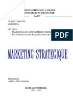 Cours Marketing Strategique SUISSI Mouhssine