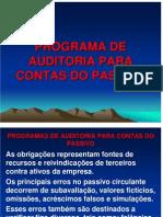 Programas de Auditoria Para Contas Do Passivo 12