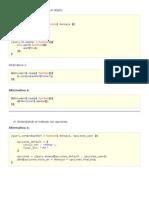 Crear y extender métodos en objetos