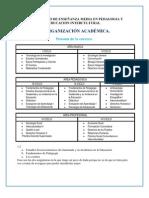 Pensum p.e.m en Pedagogia y Educacion Intercultural