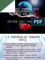 Interaksi Tamadun Asia Dan Relevannya Di Malaysia