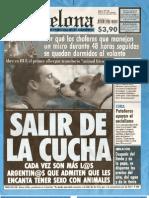Argentina - Humor - Revista Barcelona 130 - Salir de La Cucha