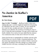 No Justice in Kafka's America _ Information Clearing House_ ICH
