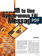 When to Use Synchronous EAI Solutions