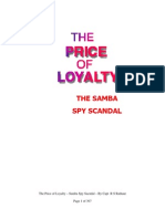 The Price of Loyalty- SAMBA SPY Scandal
