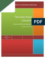 DERECHO PENAL Colonial Copia Original