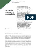 antony - 2007 - mujeres invisibles las cárceles femeninas en américa latina
