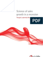 2. Science of Sales Growth in a Recession