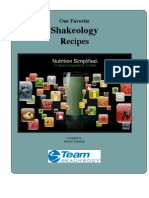 Shakeology Recipe Book