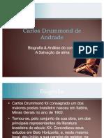 Trabalho de Literatura - Carlos Drummond de Andrade