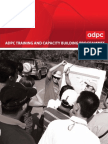 ADPC Training and Capacity Building Programs