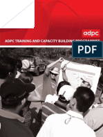 ADPC Training and Capacity Building Programs