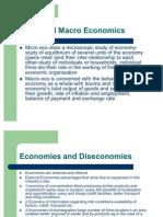 Micro& Macro Economics