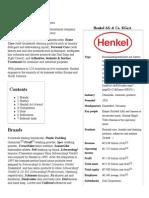 Henkel - Wikipedia, The Free Encyclopedia