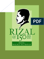 Rizal 150 Anniversary Calendar of Activities