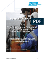 Produced Water Sampling Guidelines
