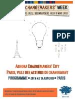 Programme Ashoka Change Makers' City