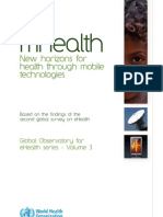 mHealth - New horizons for health through mobile technologies