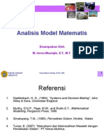 L.7. Analisis Model Matematis