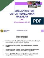 L.3. Pemodelan Sistem Untuk Pemecahan Masalah